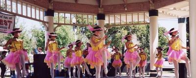Ballet performance in the park